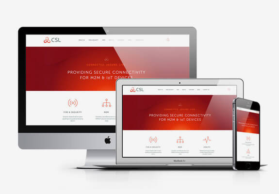 csl responsive website