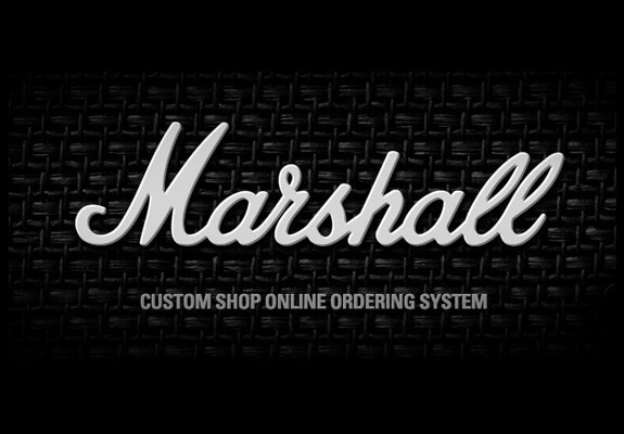 marshall custom shop logo