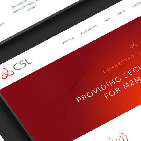 csl web design close up