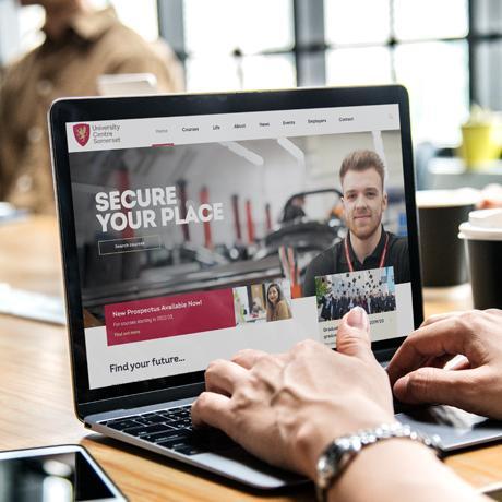 ucs web design screenshot