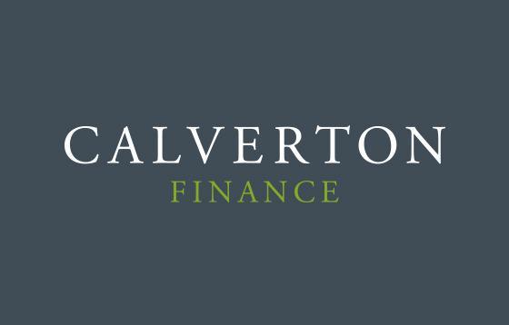 calverton logo design