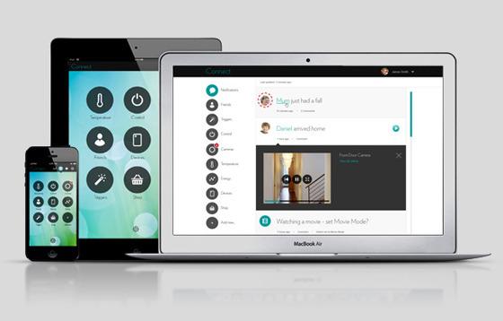 intamac gui and app design