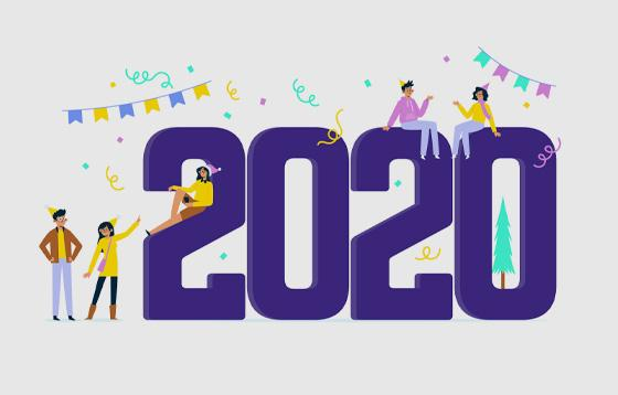 2020 New Year image