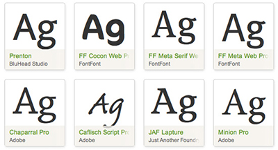 Choose from thousands of creative fonts.